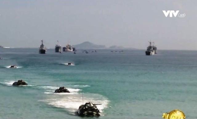 Bộ Ngoại giao phản hồi thông tin tàu hộ vệ Quang Trung diễn tập ở Trường Sa - 1