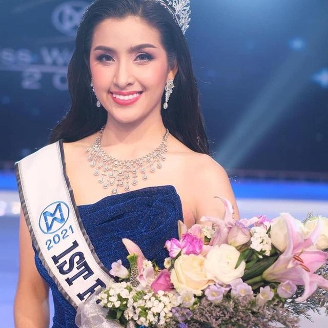 Nhan sắc ngọt ngào của tân Hoa hậu Thế giới Lào - 3