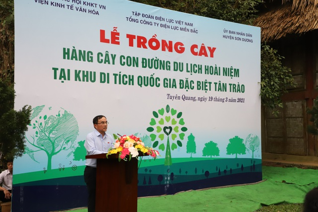 Tổng công ty Điện lực miền Bắc hưởng ứng Lễ trồng cây trên các Con đường du lịch hoài niệm các di tích Quốc gia - 2
