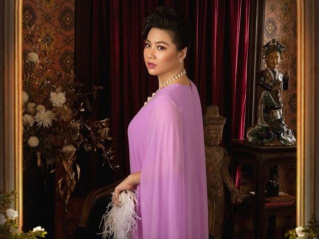 Dịp hiếm hoi diễn viên Lê Khánh diện bikini khoe dáng ở tuổi U40 - 7
