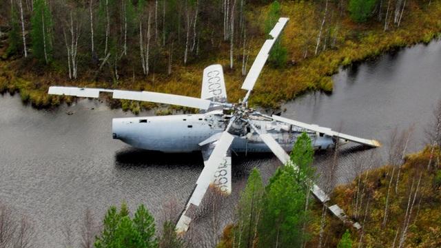Sai lầm tai hại khiến trực thăng Nga chôn chân ở đầm lầy suốt 40 năm - 1