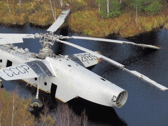 Sai lầm tai hại khiến trực thăng Nga chôn chân ở đầm lầy suốt 40 năm - 2
