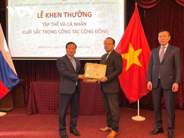 Khen thưởng tập thể, cá nhân xuất sắc trong cộng đồng người Việt tại Nga - 2