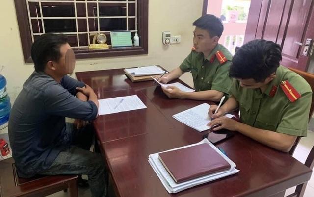 Nguyễn Văn Th. được Công an huyện Anh Sơn triệu tập làm rõ hành vi bình luận trên mạng xã hội.jpeg
