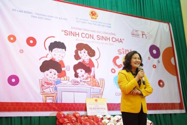 Hàng trăm phụ huynh hào hứng tham gia chương trình Sinh Con, Sinh Cha ở Bắc Ninh - 2