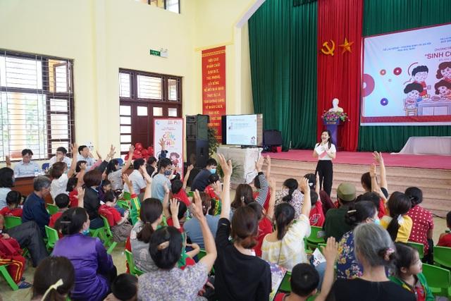 Hàng trăm phụ huynh hào hứng tham gia chương trình Sinh Con, Sinh Cha ở Bắc Ninh - 3