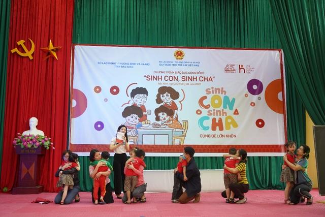 Hàng trăm phụ huynh hào hứng tham gia chương trình Sinh Con, Sinh Cha ở Bắc Ninh - 5