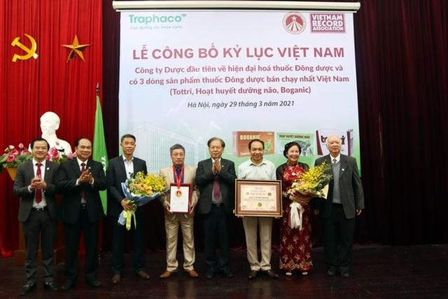 Tottri - Traphaco xác lập kỷ lục Việt Nam - 1