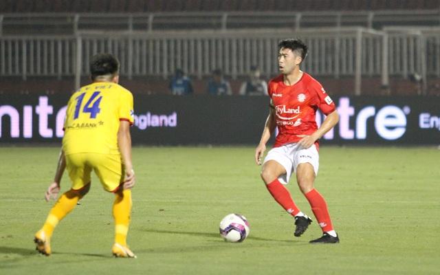 Lee Nguyễn ghi bàn giúp CLB TPHCM thắng đậm SL Nghệ An - 2
