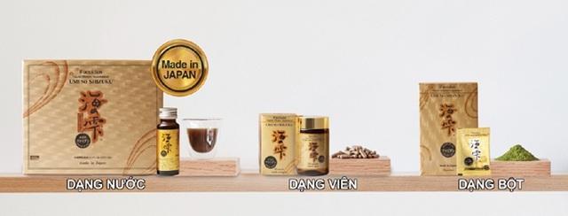 Fucoidan Umi No Shizuku thực phẩm bảo vệ sức khỏe uy tín cho người sử dụng - 3