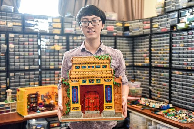 Chàng trai dùng lego ghép cảnh đẹp Việt, lên cả báo nước ngoài - 8