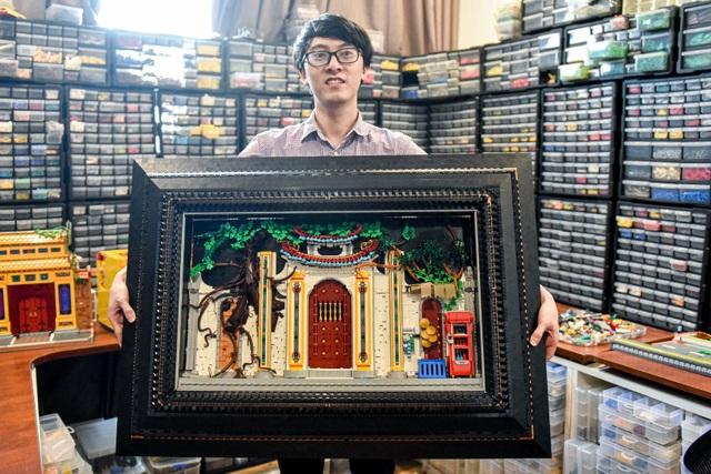 Chàng trai dùng lego ghép cảnh đẹp Việt, lên cả báo nước ngoài - 1