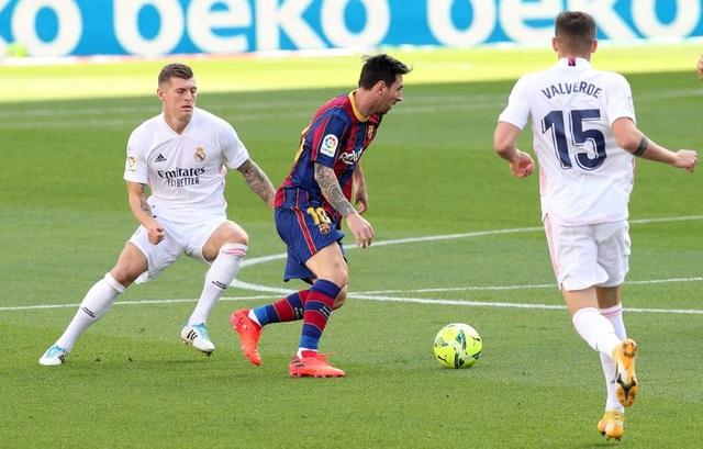 Messi bị trói trong lời nguyền C.Ronaldo ở Siêu kinh điển - 2