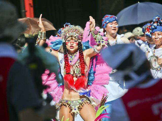 Hòa mình vào vũ điệu samba sôi động trên đường phố Tokyo - 8