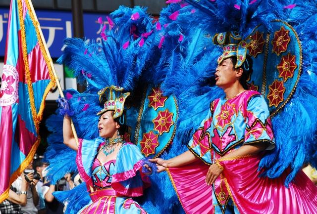 Hòa mình vào vũ điệu samba sôi động trên đường phố Tokyo - 1