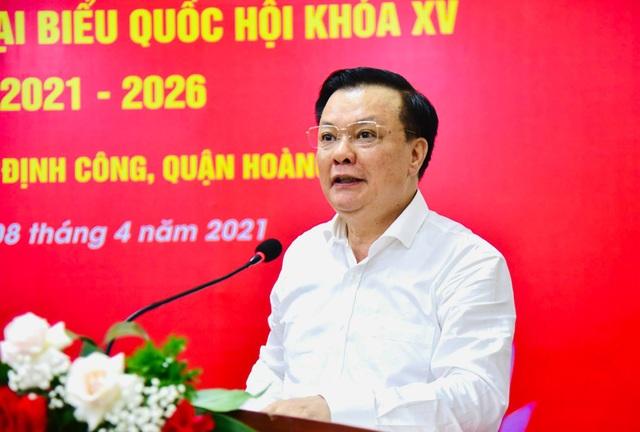 Bí thư Hà Nội báo cáo cử tri những thành quả khi ở Bộ Tài chính - 1