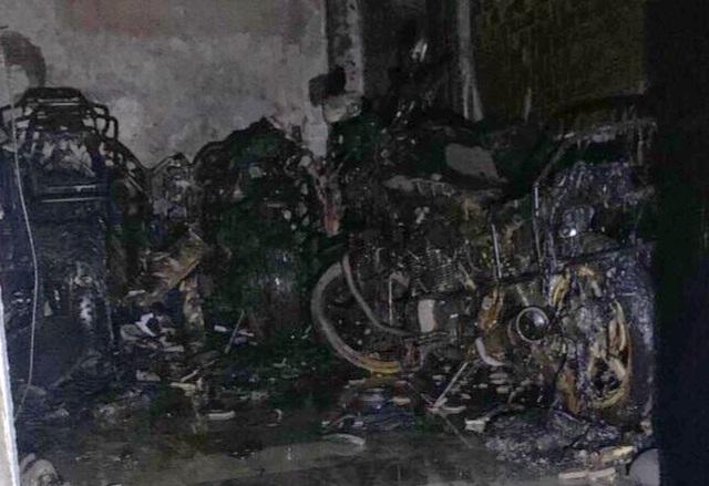 Cháy trong khu nhà giàu, 5 người được cứu sống - 1