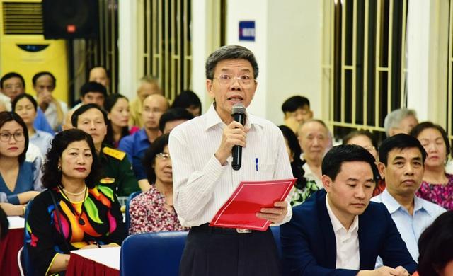 Bí thư Hà Nội báo cáo cử tri những thành quả khi ở Bộ Tài chính - 2