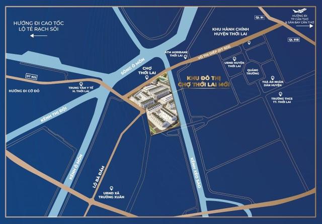 Hạ tầng phát triển kích cầu thị trường bất động sản Tây Đô - 2
