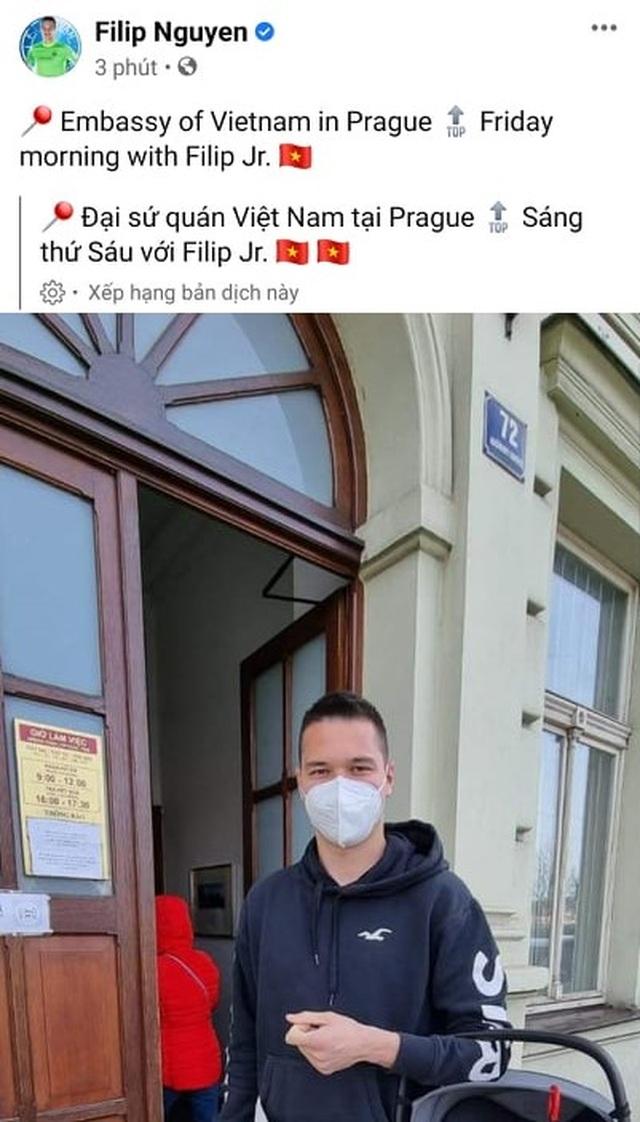 Filip Nguyễn báo tin cực vui cho HLV Park Hang Seo ở vòng loại World Cup - 1