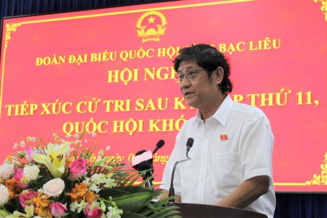 Phó Thủ tướng Chính phủ Lê Minh Khái tiếp xúc cử tri tại Bạc Liêu - 2