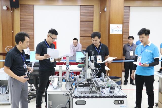 Việt Nam giành Huy chương Vàng thi nghề Cơ điện tử Châu Á- Thái Bình Dương - 5