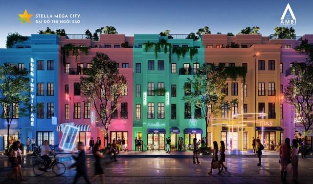 Tối ưu không gian thương mại và sinh hoạt với thiết kế Shophouse tại Stella Mega City - 1
