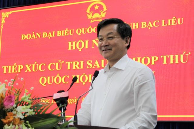 Phó Thủ tướng Chính phủ Lê Minh Khái tiếp xúc cử tri tại Bạc Liêu - 3