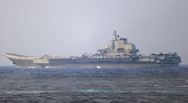 Mỹ - Trung nắn gân nhau trên eo biển Đài Loan - 1
