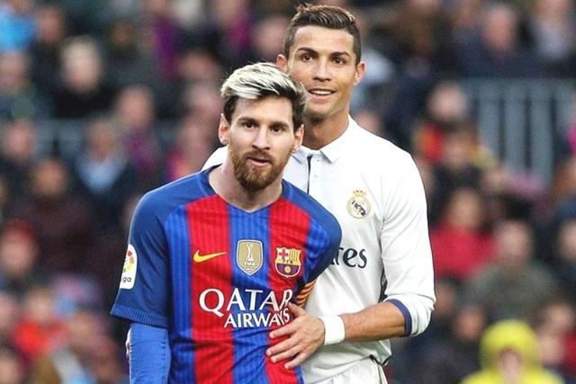 Messi bị trói trong lời nguyền C.Ronaldo ở Siêu kinh điển - 1
