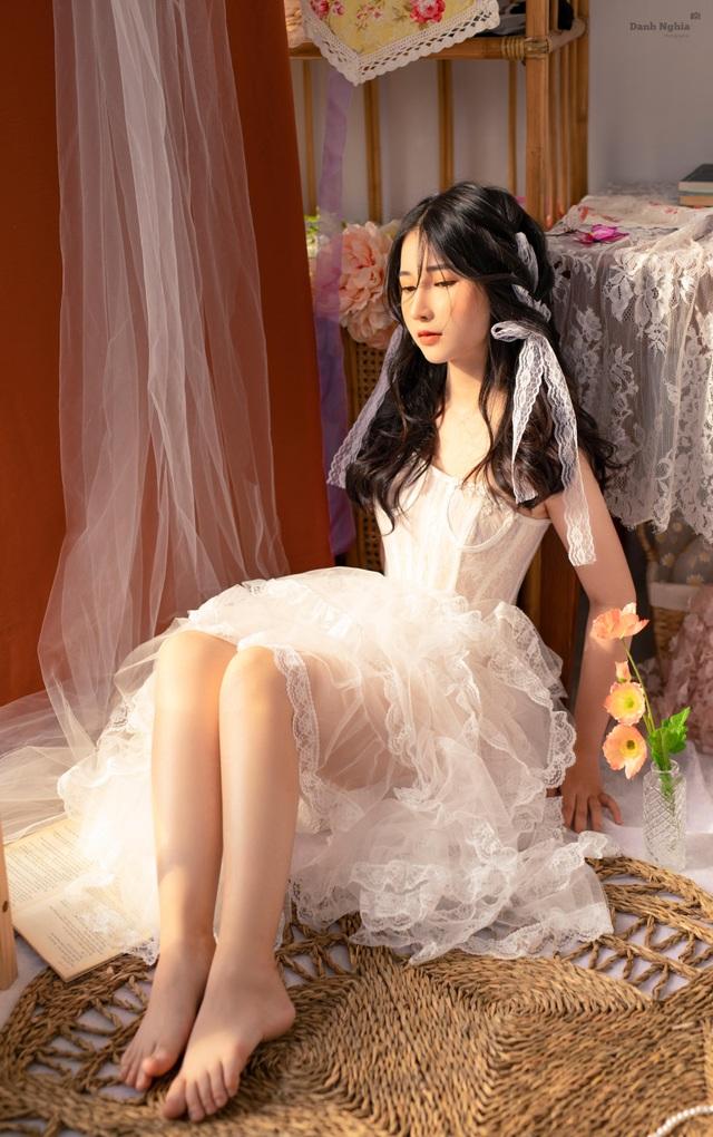 Hot girl Tây Ninh tung bộ ảnh nàng thơ đốn tim cộng đồng mạng - 4