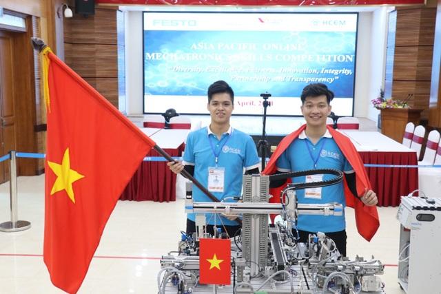 Việt Nam giành Huy chương Vàng thi nghề Cơ điện tử Châu Á- Thái Bình Dương - 2