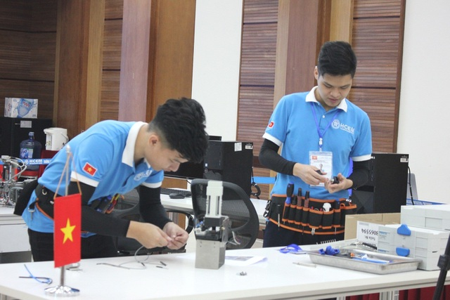 Việt Nam giành Huy chương Vàng thi nghề Cơ điện tử Châu Á- Thái Bình Dương - 3