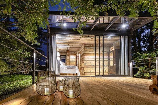 Ngôi nhà làm từ đồ tái chế nhưng trông không khác gì công trình đắt tiền - 12
