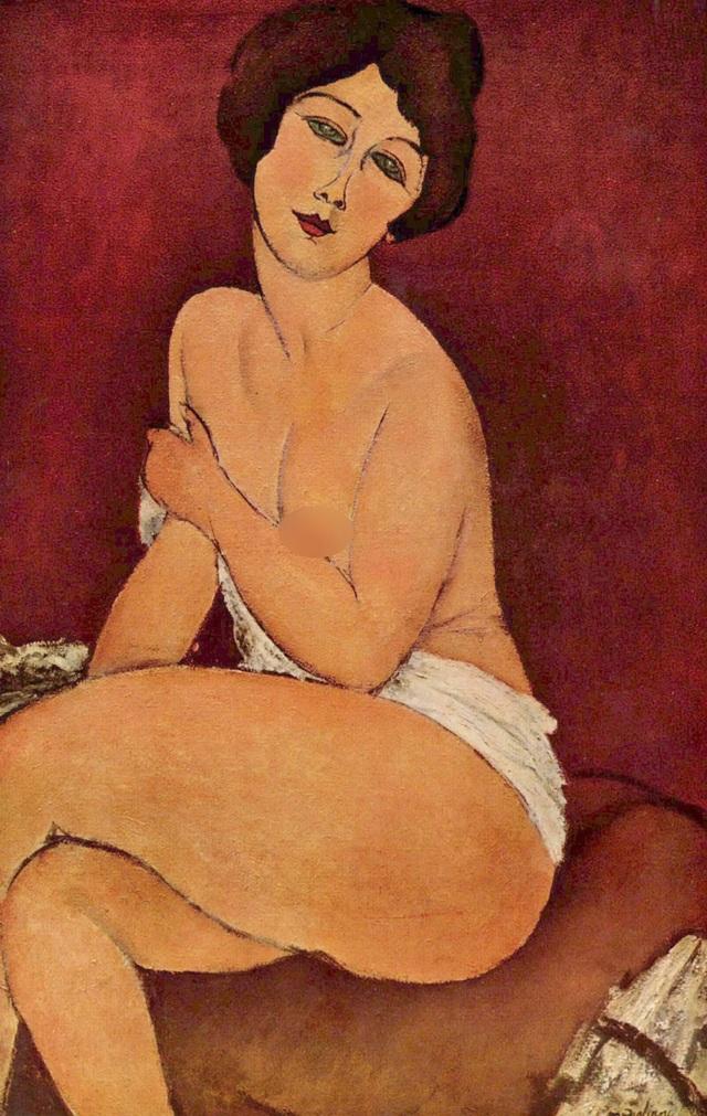 Khỏa thân trong hội họa hiện đại lột xác nhờ một bộ tranh bị tuýt còi - 3