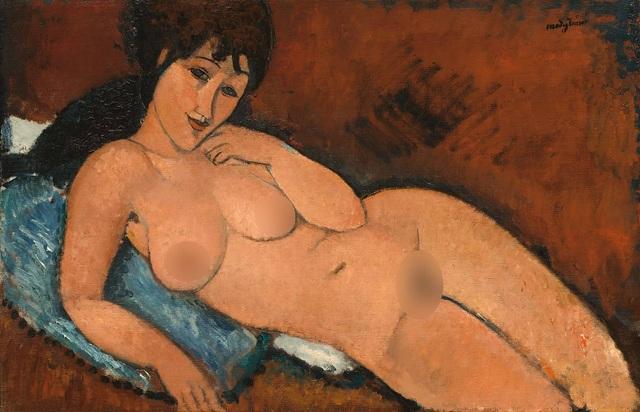 Khỏa thân trong hội họa hiện đại lột xác nhờ một bộ tranh bị tuýt còi - 4