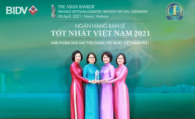 BIDV nhận giải Ngân hàng bán lẻ tốt nhất Việt Nam lần thứ 6 - 1