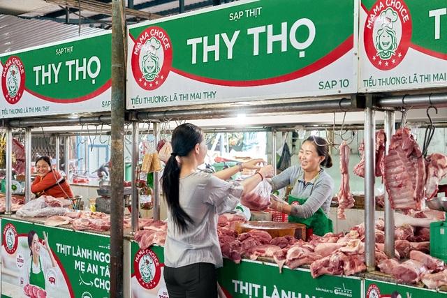 Điểm danh nơi bán thịt an toàn mới toanh thu hút bà nội trợ - 2