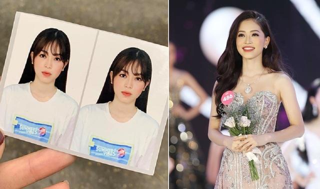 Trần Tiểu Vy tung ảnh thẻ đi làm CCCD, dàn sao Việt bị soi nhan sắc ảnh thẻ - 3