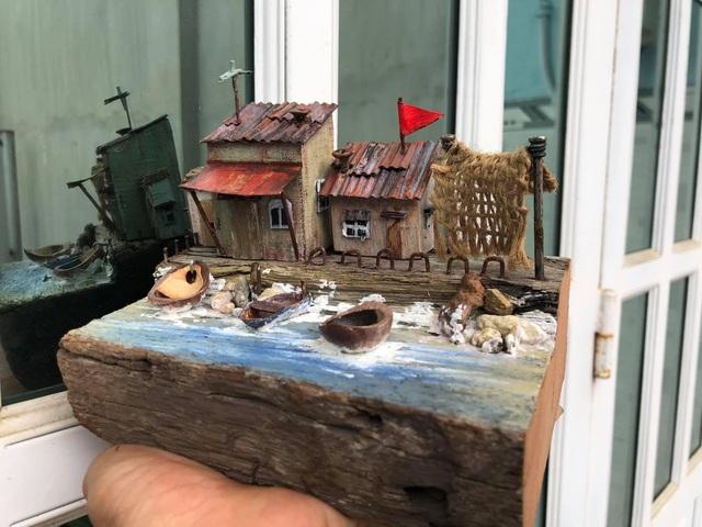 Chàng trai mê xây nhà từ gỗ vụn - 2