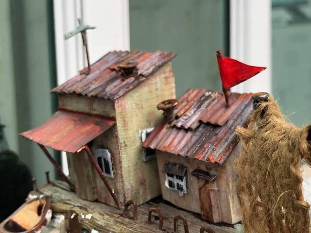 Chàng trai mê xây nhà từ gỗ vụn - 3