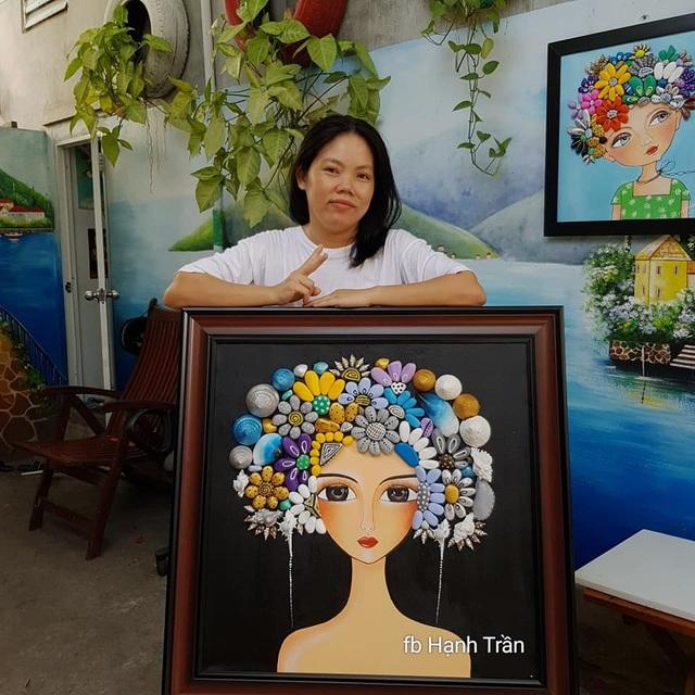 Sửng sốt với những bức tranh từ đá đẹp mê hồn của nữ họa sỹ ở Đà Nẵng - 2
