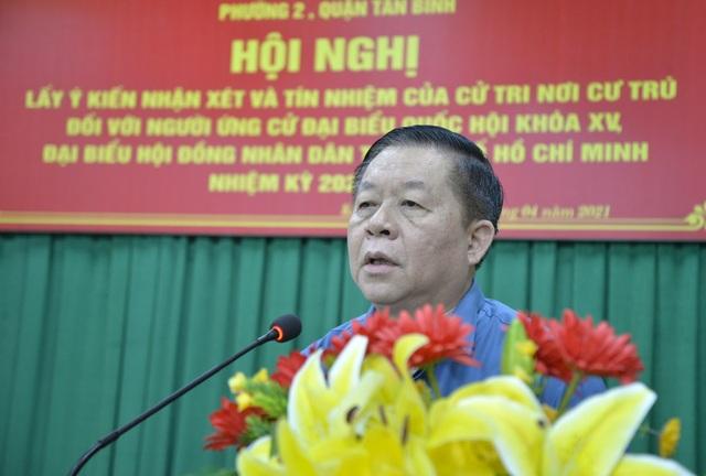 Cử tri đồng ý giới thiệu ông Nguyễn Trọng Nghĩa ứng cử đại biểu Quốc hội - 2