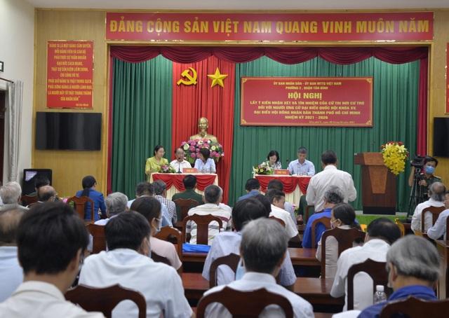 Cử tri đồng ý giới thiệu ông Nguyễn Trọng Nghĩa ứng cử đại biểu Quốc hội - 1