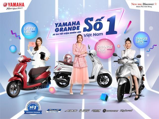 Yamaha Grande tiếp tục thống lĩnh ngôi vương tiết kiệm nhiên liệu năm 2021 - 1