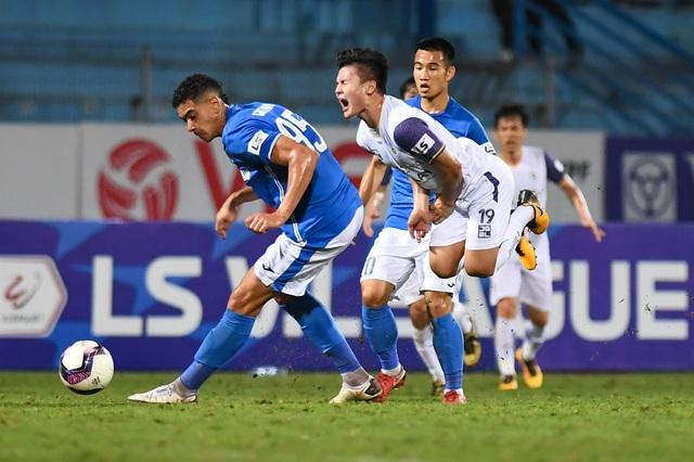 CLB Hà Nội 4-0 Than Quảng Ninh: Quang Hải rực sáng - 8