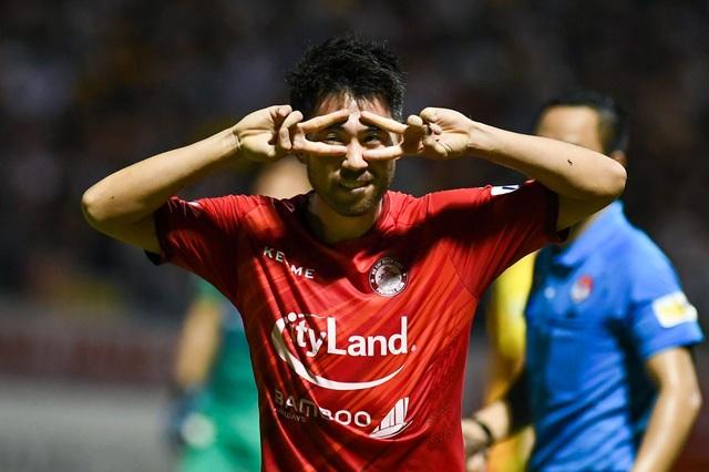 Lee Nguyễn ghi bàn, CLB TPHCM vẫn bị mất điểm trước Thanh Hóa phút bù giờ - 5