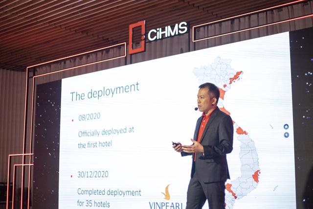 Vingroup ra mắt Bộ giải pháp chuyển đổi số quản lý khách sạn toàn diện CiHMS - 1