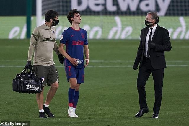 Atletico đòi lại ngôi đầu bảng từ Real Madrid trong nỗi thất vọng - 5