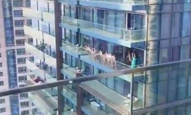 Người mẫu nói bị ép chụp ảnh khỏa thân trên nhà chọc trời Dubai - 1